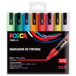 Marker Case PC-5 M Posca, 8 colors