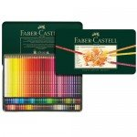 Colour Pencils metal box POLYCHROMO, Faber Castell (120 colours)