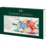 Empty metal case for 36 pencils Faber Castell