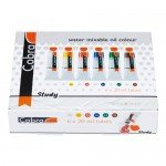 Set with 6 colors oil-in-water Cobra Study (20 ml)