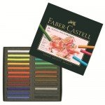 24 Artist's Polychromos Pastels Faber-Castell