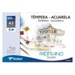 Fabriano Watercolour, (minipack) 6 s., 350 gr., 224x32cm (A4+)
