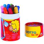 Giotto Be-Bè: Bote 10 lápices de colores