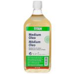 Medium oil colors Titan, 1000 ml.