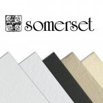 Somerset Textured Soft White, 300 gr., 76x112 cm.