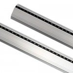 Nonslip Aluminum Ruler 30  cm -Art-