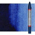 Watercolor Marker prussian blue hue Winsor & Newton doble brush point