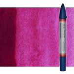 Watercolor Marker quinacridone magenta Winsor & Newton doble brush point