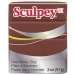 Sculpey III Chocolate, 56 gr.