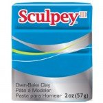 Sculpey III Turquoise, 56 gr.