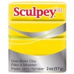 Sculpey III Yellow, 56 gr.