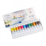 Set of 12 watercolor tubes 10 ml, White Nights