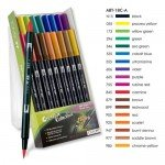 Tombow Marker, Set of 18 Primary Colours