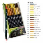 Tombow Marker, Set of 18 Earth Colours