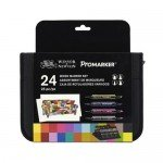 Marker Promarker Winsor & Newton, set 24 units - MIXED -