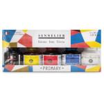 Set 5 primary inks 30 ml, Sennelier