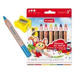 Set 6 Coloured pencils Bruynzeel