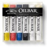 Oilbar box 6 pcs. Winsor & Newton, 50 ml.
