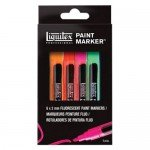 Liquitex Paint Marker, set 6 uds 2 mm.