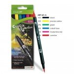 Tombow Marker, Set of 6 Primary Colours