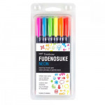 Tombow Marker, Set of 6 Neon Colors