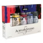 Set Acrílico Studio Vallejo 5 colors (200 ml)