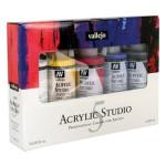 Set Acrílico Studio Vallejo 5 colors (200 ml)