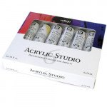 Set Acrílico Studio Vallejo 6 colors (58 ml)