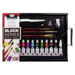 Art Set Watercolor Black Series (21 pieces), Royal&Langnickel