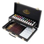 Art Set Acrylic Paint Black Series Wooder Box (28 pieces), Royal&Langnickel