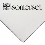 Somerset Textured Soft White, 250 gr., 56x76 cm.