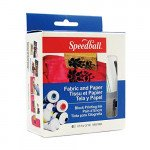 Set tinta xilografia textil Speedball, 6 colores,  37 ml.