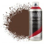 Liquitex Spray color Burnt Siena umber 0127, Liquitex acrylic, 400 ml.