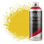 Liquitex Spray color dark yellow cadmium 0163, Liquitex acrílico, 400 ml.