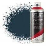 Liquitex Spray color Prussian Blue 0320, Liquitex acrílico, 400 ml.