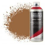 Liquitex Spray color land of raw sienna 0330, Liquitex acrílico, 400 ml.