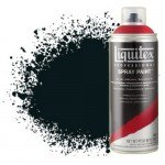 Liquitex Spray color charcoal black 0337, Liquitex acrílico, 400 ml.