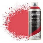 Liquitex Spray color cadmium red medium 5, 5151, Liquitex acrílico, 400 ml.
