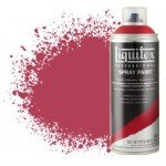 Liquitex Spray color dark red cadmium 5 5311, Liquitex acrylic, 400 ml.