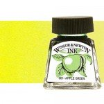 Drawing Ink Canary Yellow, Winsor & Newton, 14 ml.