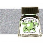 Drawing Ink Silver, Winsor & Newton, 14 ml.