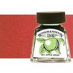 Drawing Ink Deep Red, Winsor & Newton, 14 ml.