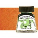 Drawing Ink, Burnt Umber, Winsor & Newton, 14 ml.