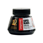 Super Black Indian Ink, 59.2 ml. (2 fl. Oz.) Speedball
