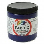Blue Denim Screen Printing Ink 236 ml. Speedball