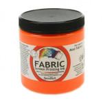 Fluor. Orange Screen Printing Ink 236 ml. Speedball