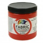 Red Screen Printing Ink 236 ml. Speedball