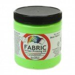 Fluor. Lime Green Screen Printing Ink 236 ml. Speedball