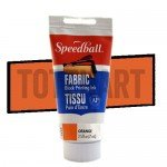Tinta xilografia textil naranja Speedball 75 ml.