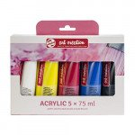 Acrylic Set Art Creation 5 colors (75 ml)